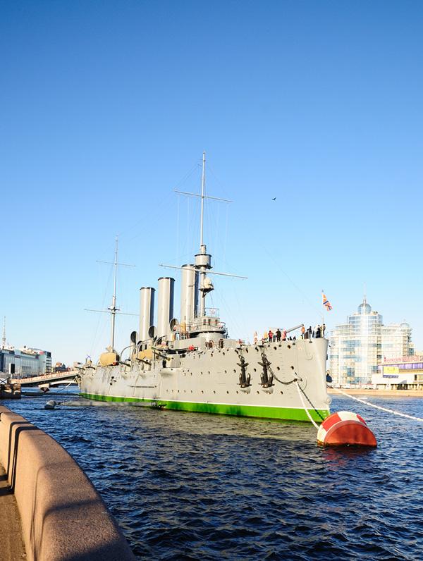 Крейсер Аврора. Санкт-Петербург. 2