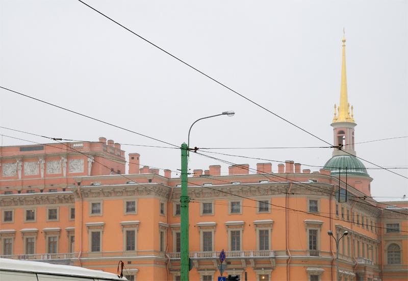 Санкт-Петербург. Инженерный замок.