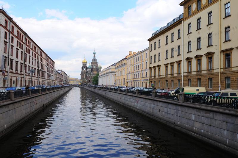 Санкт-Петербург. Канал Грибоедова. Спас-на-крови. Saint-Petersburg.