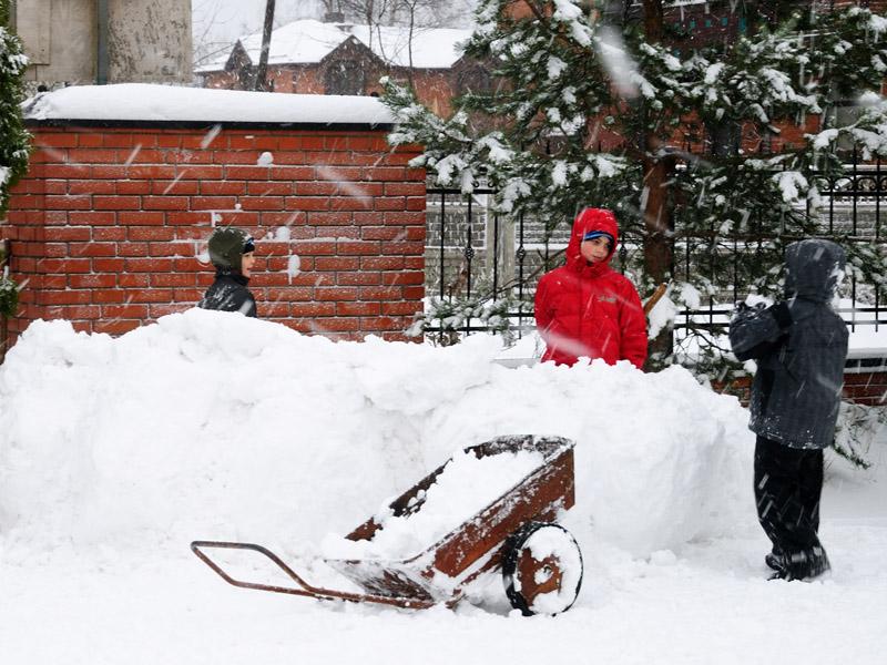 Питер. Зима.