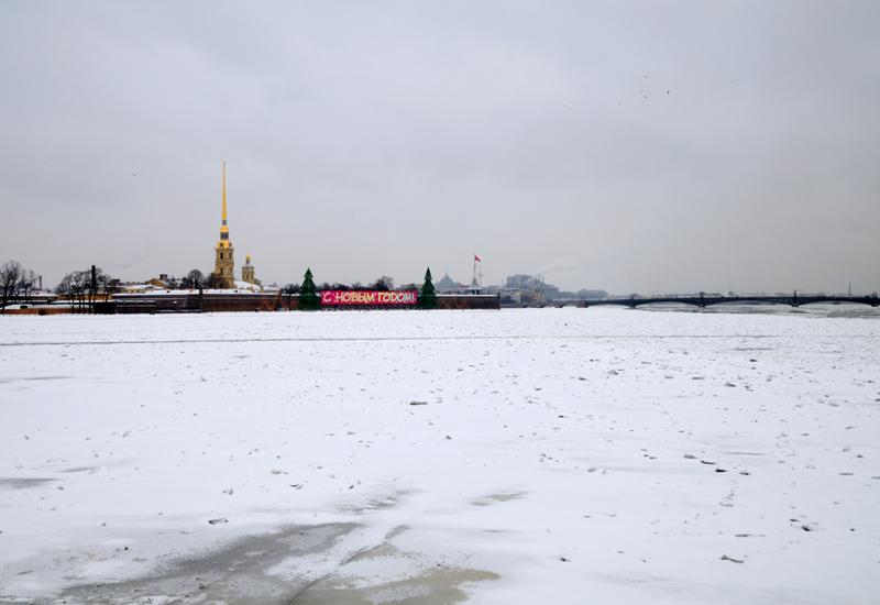 Петропаловка и Троицкий мост.