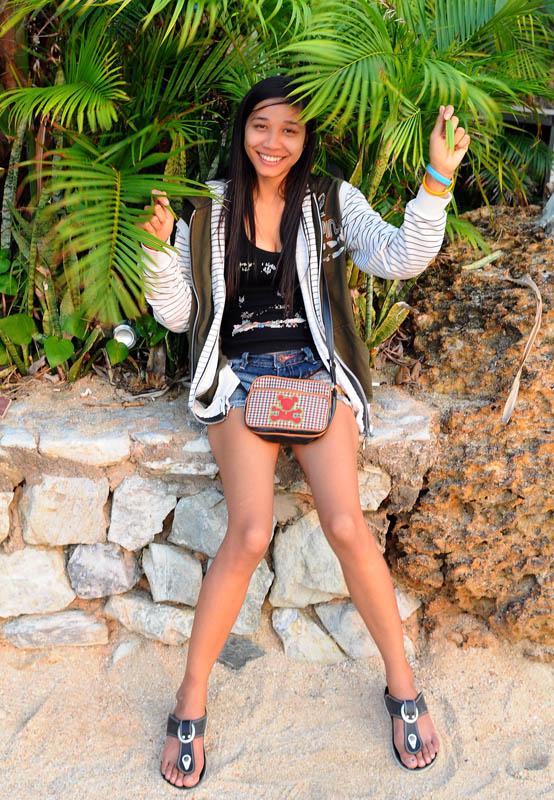 Паттайя. Девушка. Pattaya. 80.