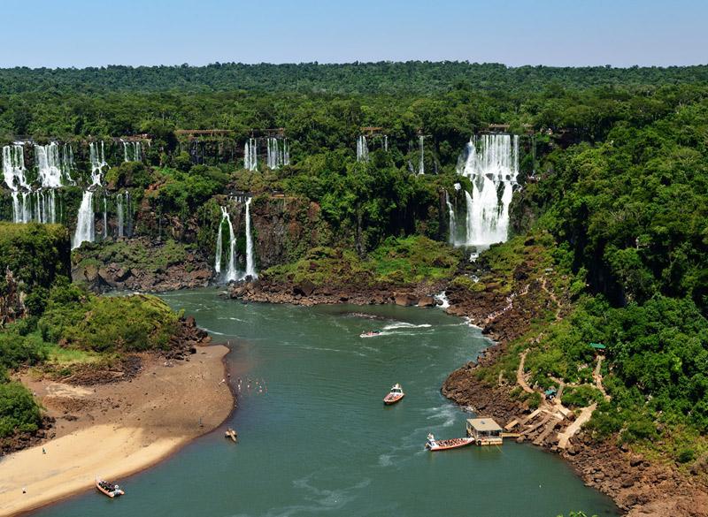 Водопады Игуасу. Тур на лодке. Iguacu Falls. Boat Trip 1