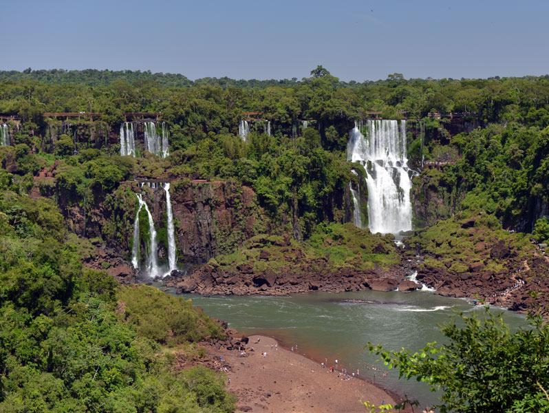 Водопады Игуасу. Бразилия. Brasil. Iguacu Waterfalls. 12