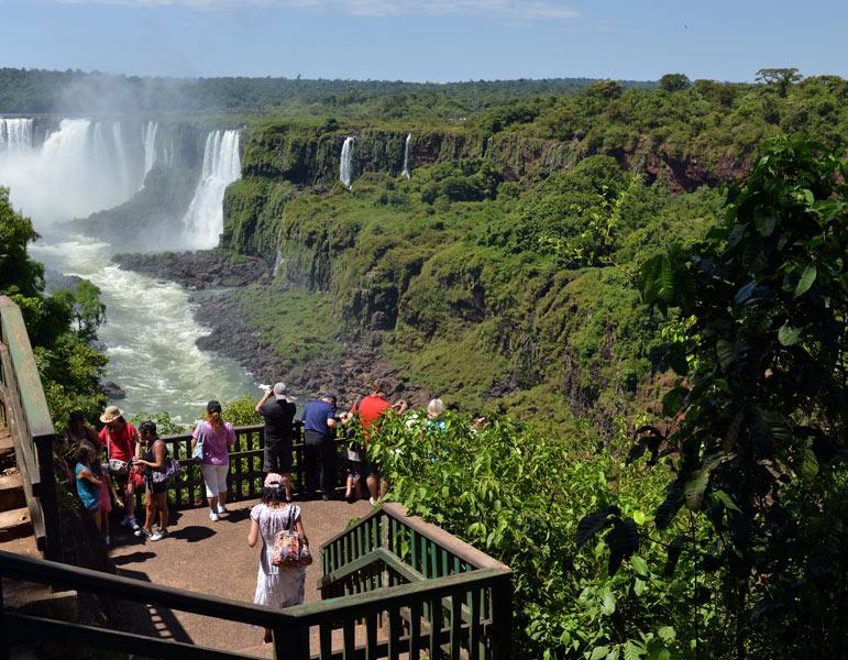 Водопады Игуасу. Бразилия. Brasil. Iguacu Waterfalls. 16