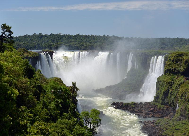 Водопады Игуасу. Бразилия. Brasil. Iguacu Falls. 17