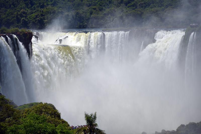 Водопады Игуасу. Бразилия. Brasil. Iguacu Falls. 18