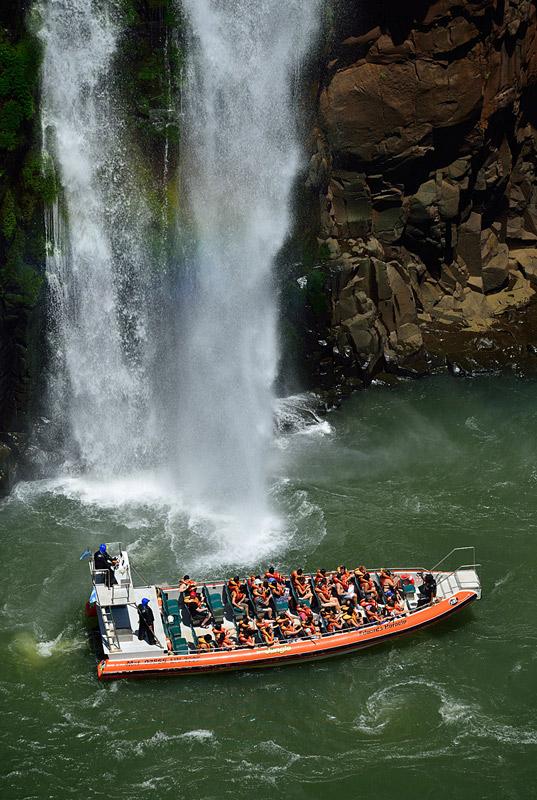 Водопады Игуасу. Тур на лодке. Iguacu Falls. Boat Trip 4