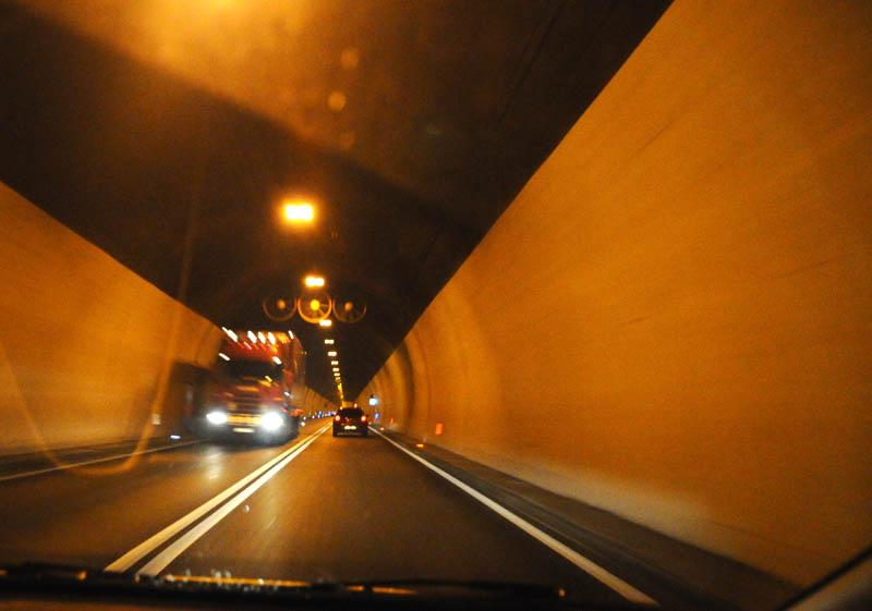 Хорватия. Дороги. Туннель. 8