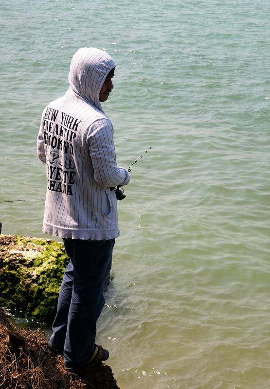 Паттайя. Рыбалка на пляже. 70