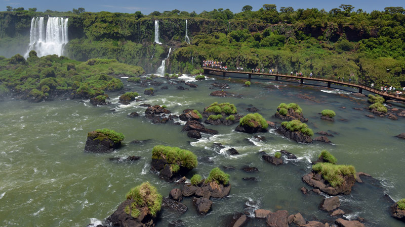 Бразилия. Водопады Игуасу. Brasil. Iguacu Waterfalls. 35