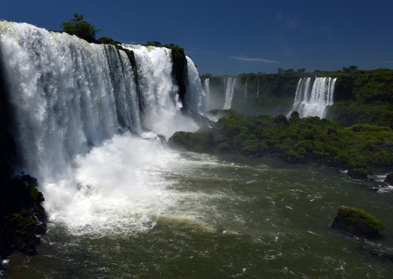Бразилия. Водопады Игуасу. Brasil. Iguacu Falls. 36