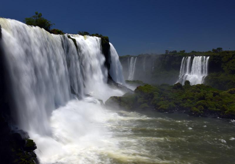Бразилия. Водопады Игуасу. Brasil. Iguacu Falls. 43