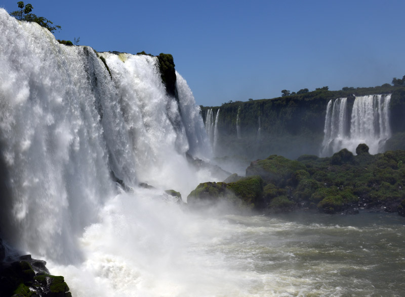 Бразилия. Водопады Игуасу. Brasil. Iguacu Waterfalls. 46
