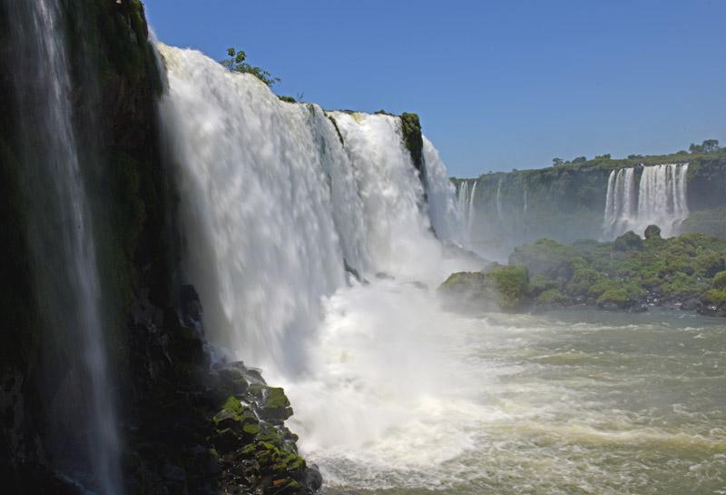 Бразилия. Водопады Игуасу. Brasil. Iguacu Waterfalls. 47