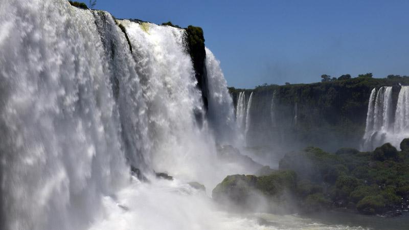 Бразилия. Водопады Игуасу. Brasil. Iguacu Waterfalls. 49