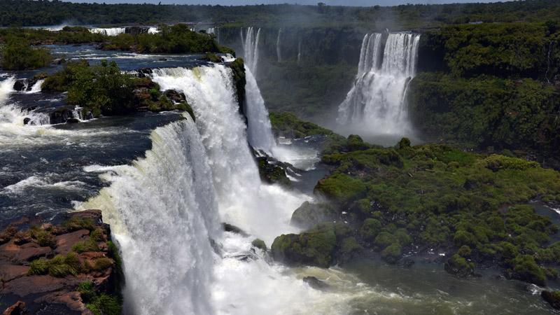 Бразилия. Водопады Игуасу. Brasil. Iguacu Waterfalls. 50