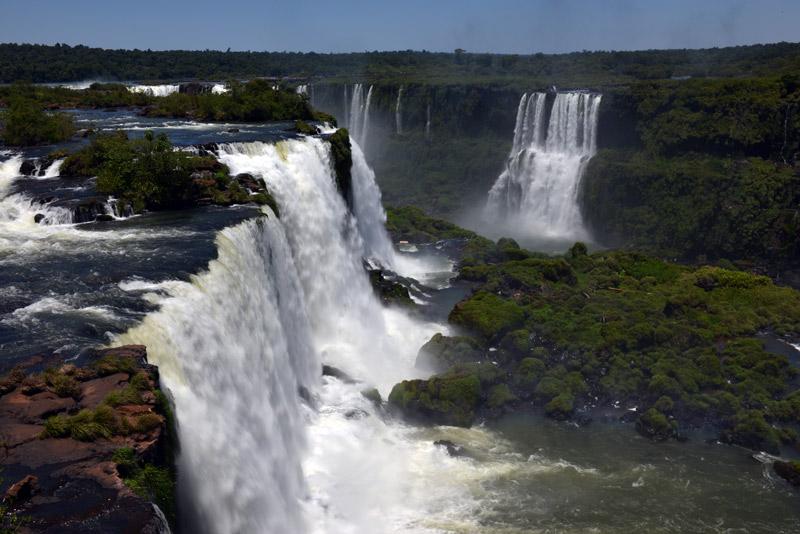 Бразилия. Водопады Игуасу. Brasil. Iguacu Waterfalls. 52