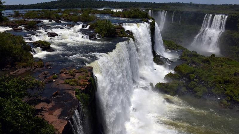 Бразилия. Водопады Игуасу. Brasil. Iguacu Waterfalls. 54