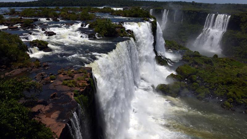Бразилия. Водопады Игуасу. Brasil. Iguacu Waterfalls. 55