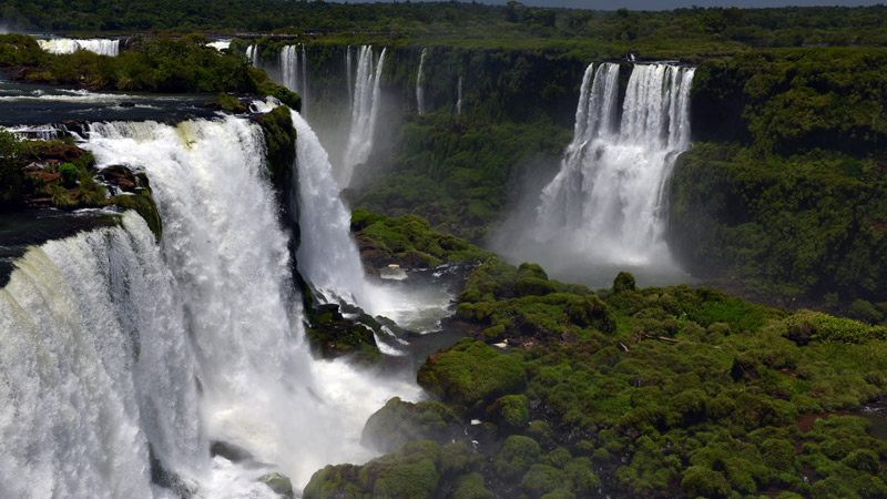 Бразилия. Водопады Игуасу. Brasil. Iguacu Waterfalls. 57