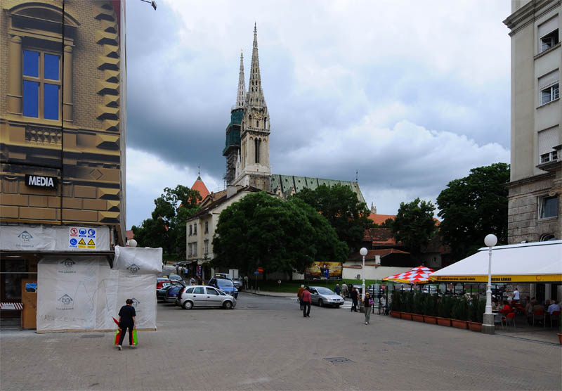 Загреб. Кафедральный собор. Zagreb. 26