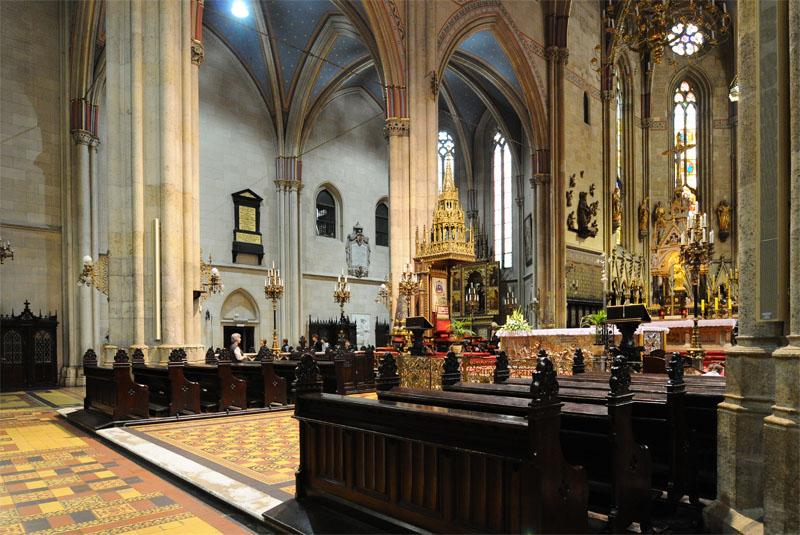 Загреб. Интерьер собора Вознесения Девы Марии. Zagreb. 33