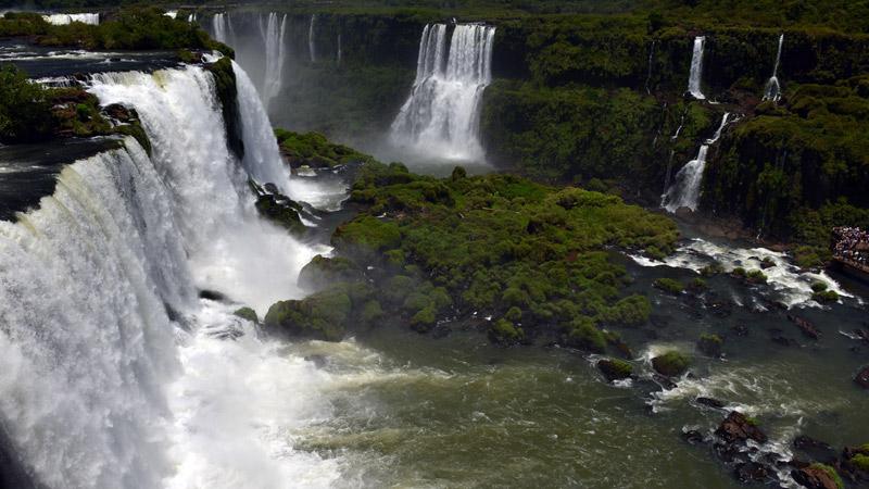 Бразилия. Водопады Игуасу. Brasil. Iguacu Falls. 60