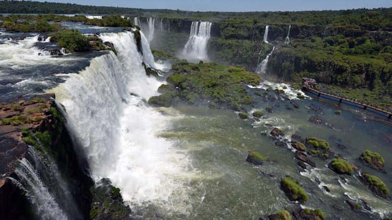 Бразилия. Водопады Игуасу. Brasil. Iguacu Falls. 69