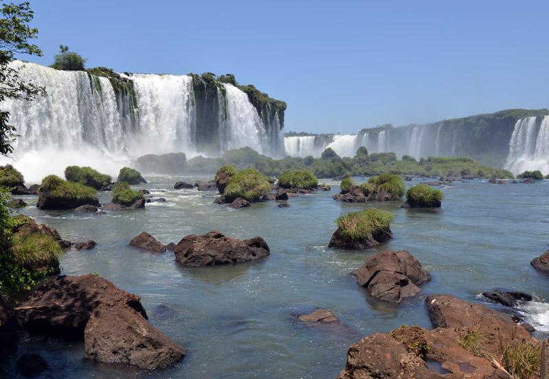 Бразилия. Водопады Игуасу. Brasil. Iguacu Falls. 71