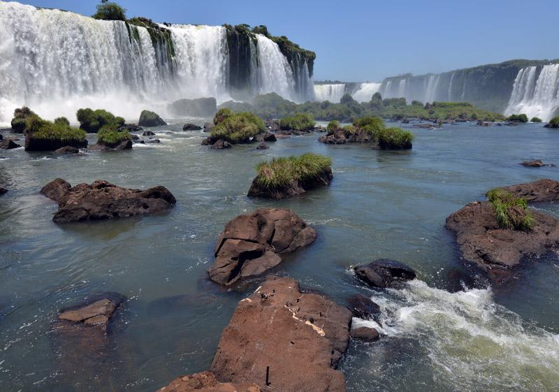 Бразилия. Водопады Игуасу. Brasil. Iguacu Waterfalls. 73