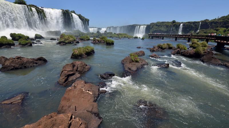 Бразилия. Водопады Игуасу. Brasil. Iguacu Waterfalls. 74