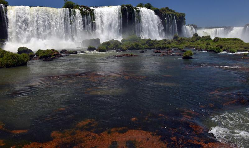 Бразилия. Водопады Игуасу. Brasil. Iguacu Falls. 78