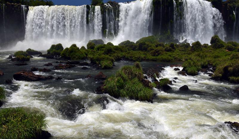 Бразилия. Водопады Игуасу. Brasil. Iguacu Falls. 82
