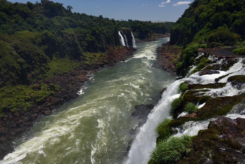 Бразилия. Водопады Игуасу. Brasil. Iguacu Waterfall. 83