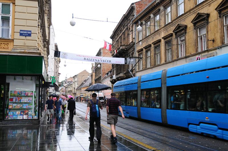 Загреб. Дождь. Zagreb. 75