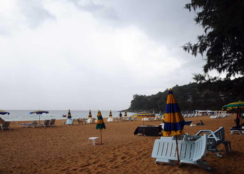Пляжи и отели острова Пхукет. Пляж Най Тон. Nai Thon Beach. 5