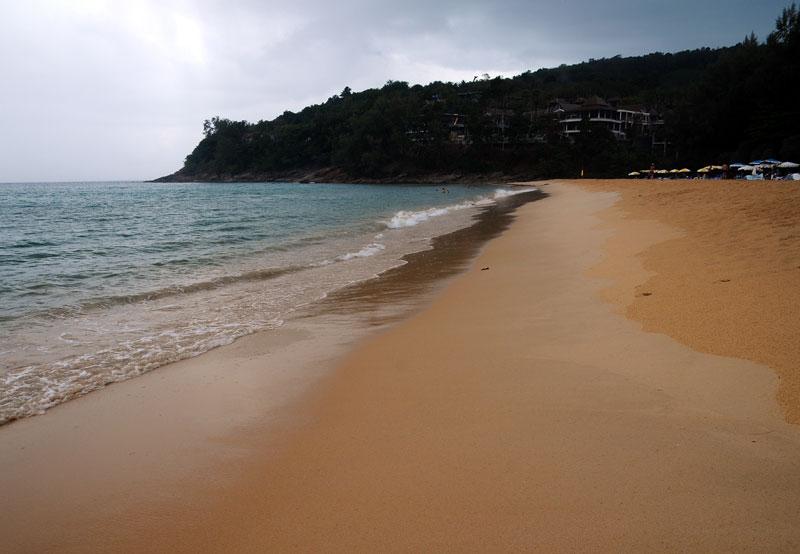 Пляжи и отели острова Пхукет. Пляж Най Тон. Nai Thon Beach. 7