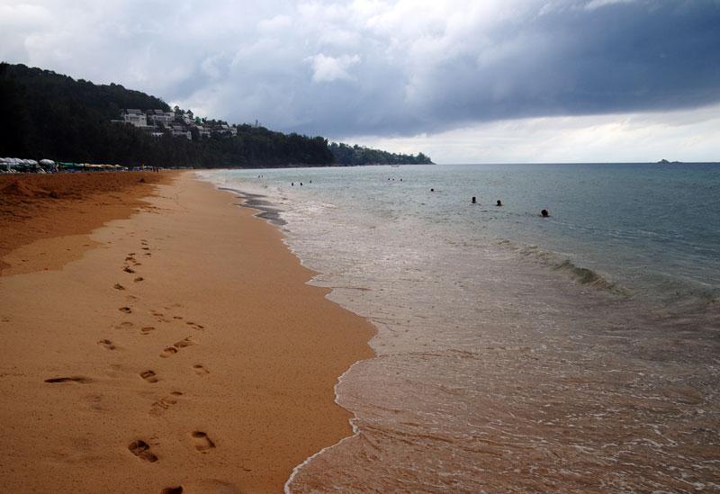 Пляжи и отели острова Пхукет. Пляж Най Тон. Nai Thon Beach. 8