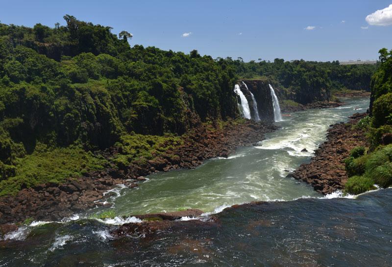 Бразилия. Водопады Игуасу. Brasil. Iguacu Falls. 102