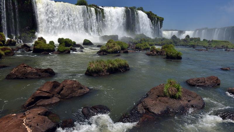 Бразилия. Водопады Игуасу. Brasil. Iguacu Falls. 99