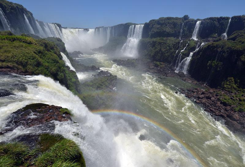 Бразилия. Водопады Игуасу. Brasil. Iguacu Falls. 101