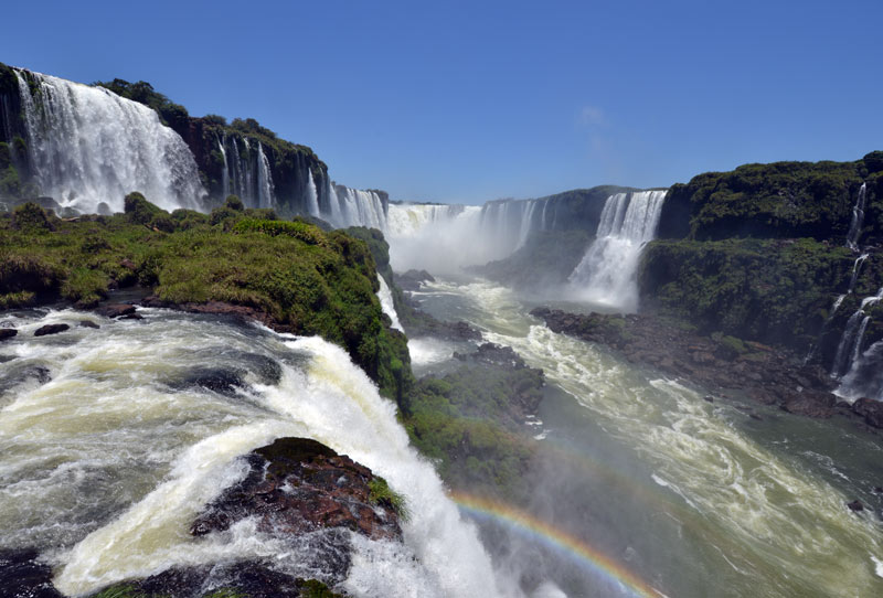 Бразилия. Водопады Игуасу. Brasil. Iguacu Waterfalls. 106