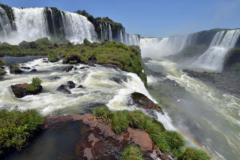 Бразилия. Водопады Игуасу. Brasil. Iguacu Falls. 109