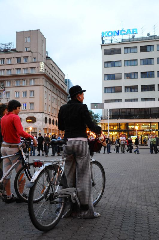 Загреб. Площадь Бана Елачича. Zagreb. 84