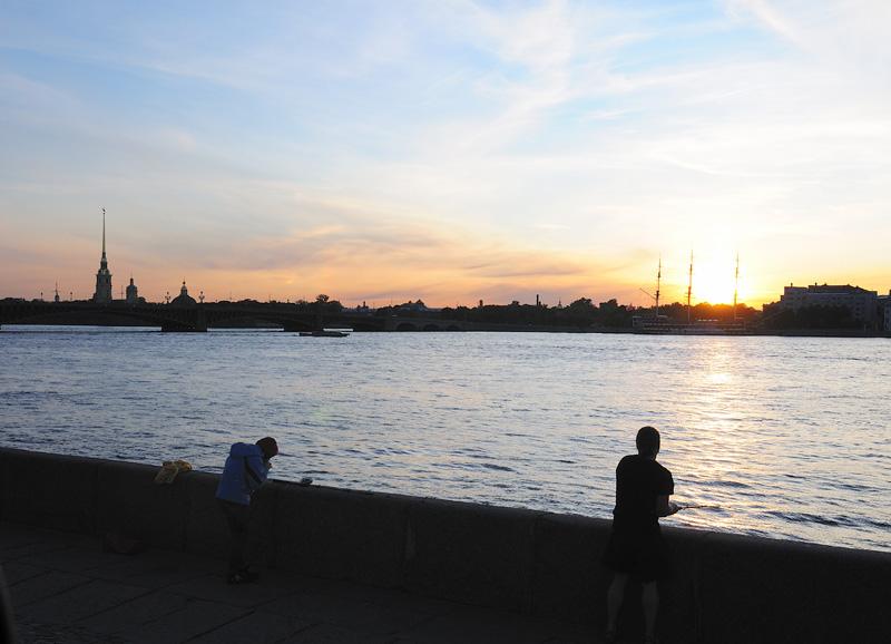 Санкт-Петербург. Белые ночи. Saint-Petersburg. White Nights. 8