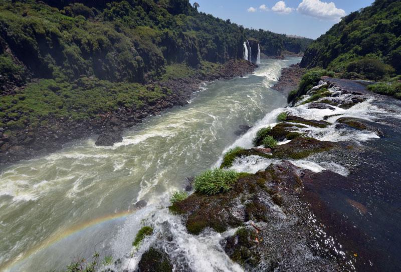 Бразилия. Водопады Игуасу. Brasil. Iguacu Falls. 111
