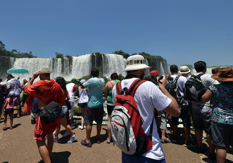 Бразилия. Водопады Игуасу. Brasil. Iguasu Falls. 110