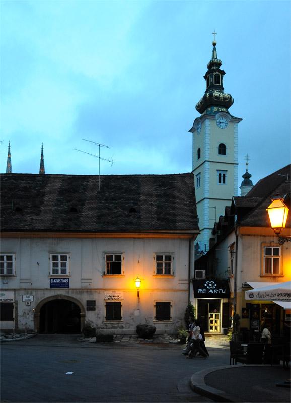 Вечерний Загреб. Zagreb. 71