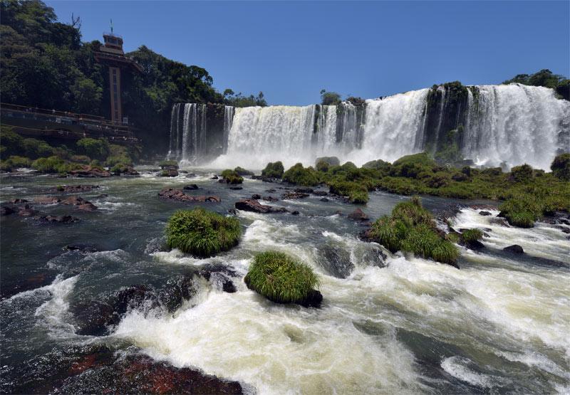Бразилия. Водопады Игуасу. Brasil. Iguacu Waterfalls. 114